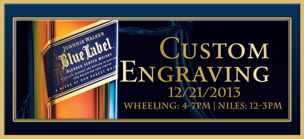 Blue Label Engraving